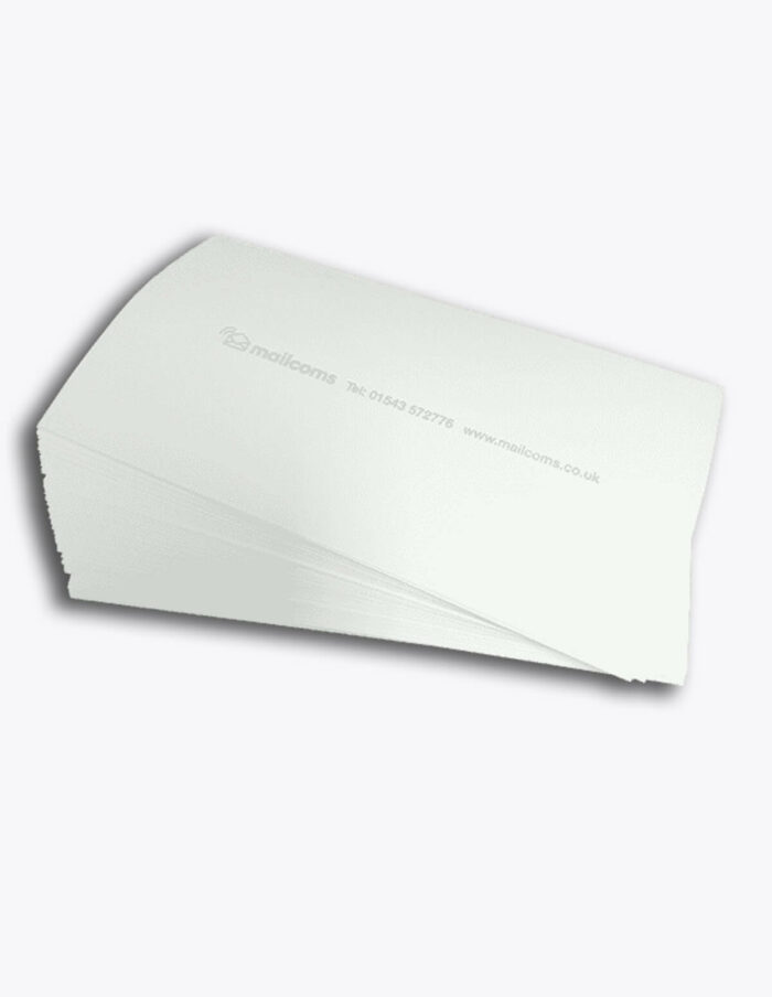 200 Universal Long (175MM) 'Double Sheet' Franking Labels (100 sheets with 2 per sheet)