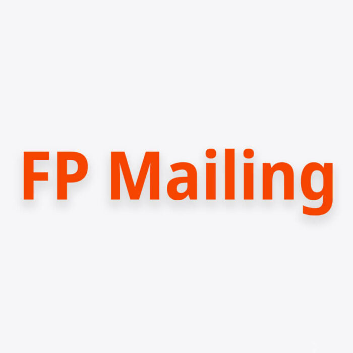 FP Mailing Franking Machine Supplies